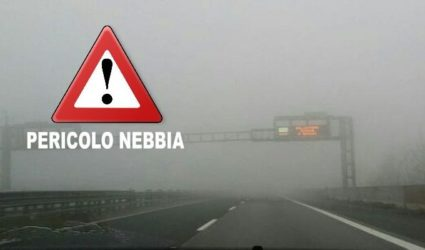 "NEBBIA ""KILLER"" in VALPADANA: 2 incidenti mortali sull'AUTOSTRADA A13 tra Ferrara ed Altedo"